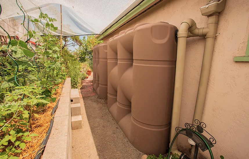 San Carlos rainwater storage home