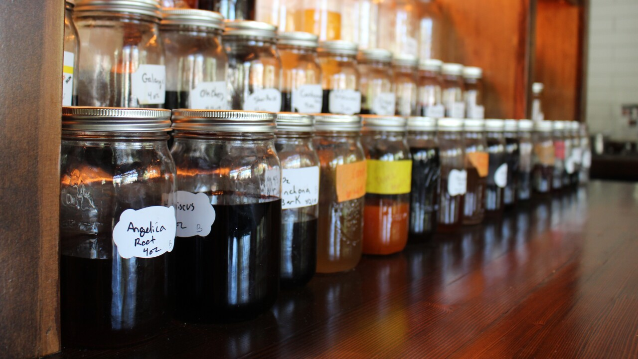 House made flavors and mixtures