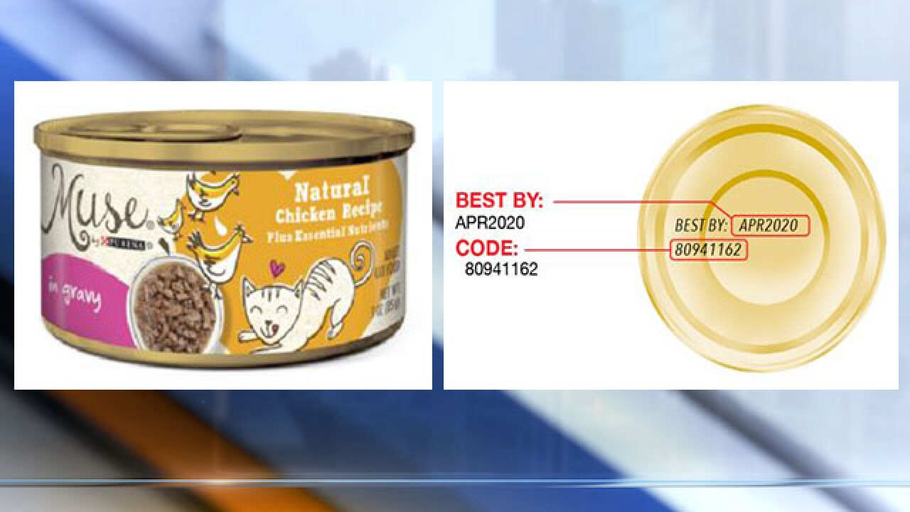 Purina issues recall due to rubber pieces found in cat food
