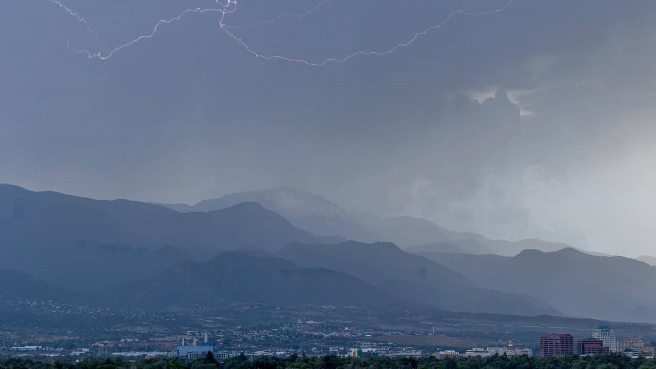 Stormy Colorado Springs