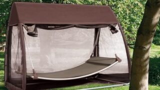 Amazon Is Selling A Hammock Swing Complete With Its Own Mosquito Net