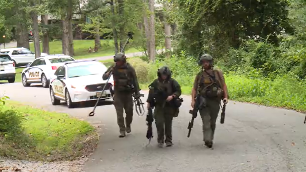 Woman taken to hospital after barricade situation at Chesterfield home