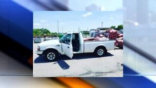 Truck stolen Midtown