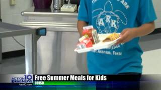 CCISD serving free lunches during summer