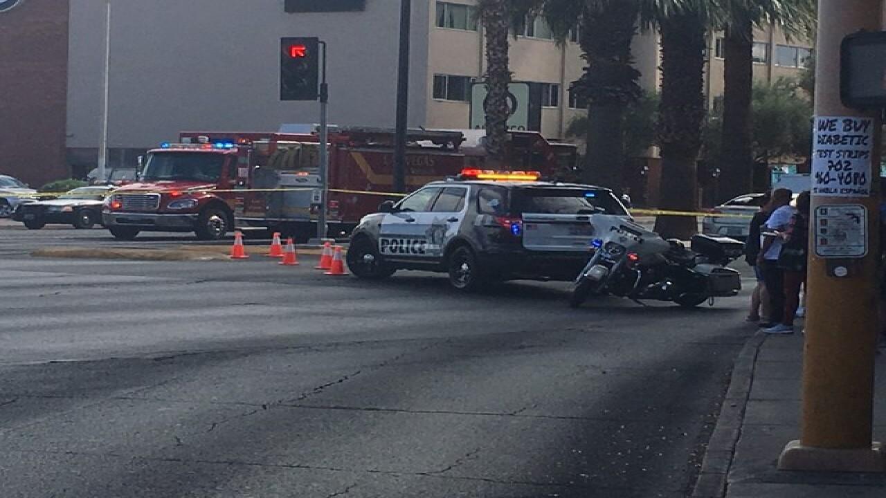 Package prompts evacuation of Las Vegas casino