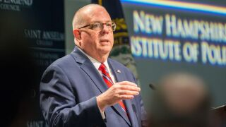 Maryland Republican Gov. Larry Hogan says he won't challenge Trump in 2020