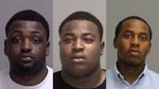 Ayrian Brown, suspect; Demetrius Thomas, suspect; Deshawn Franklin, person of interest