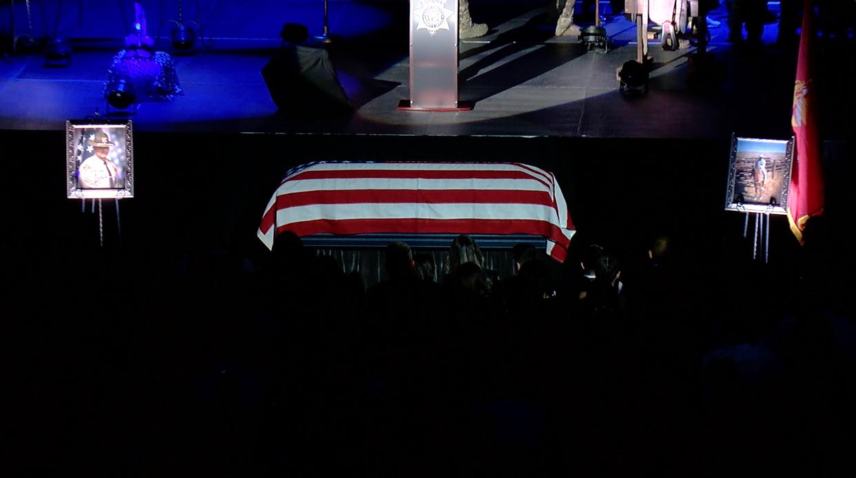 Deputy Phillip Campus Funeral Service, August 6, 2021