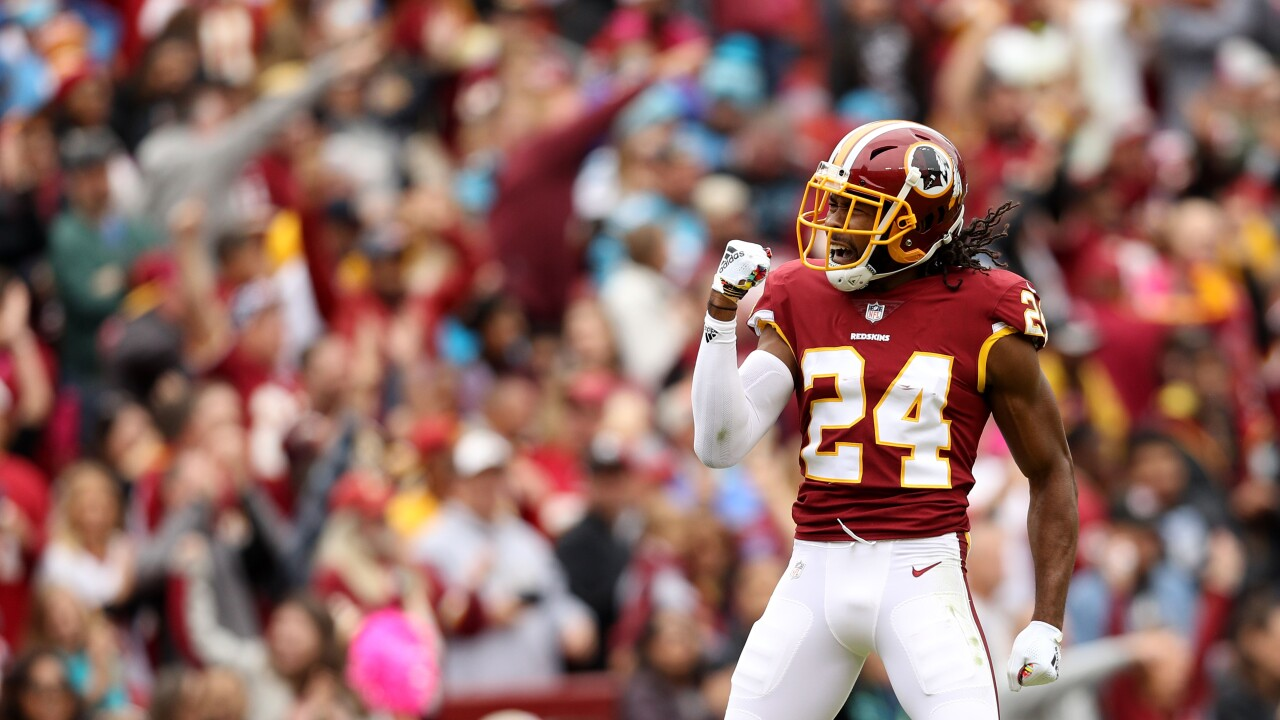 Redskins ride hot start, hold off Panthers to seize first place
