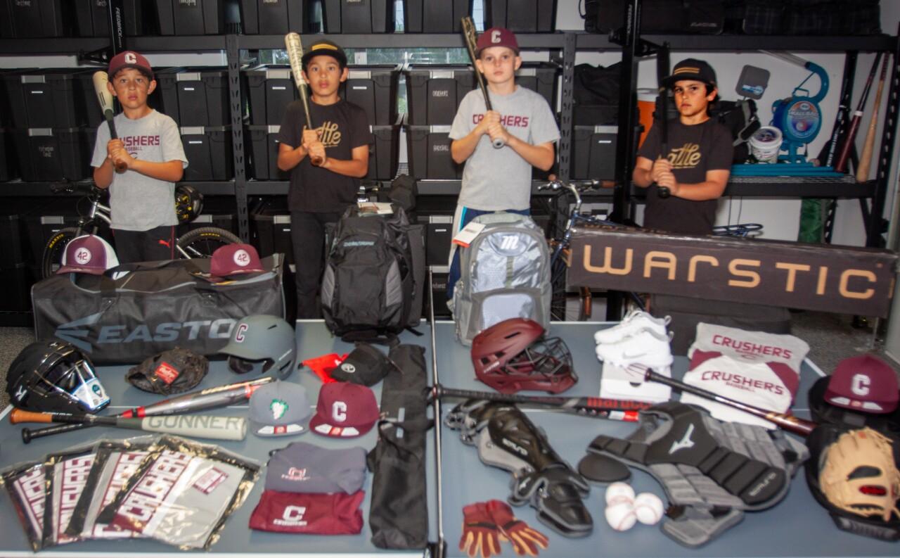 Colton Santos Baseball Gear