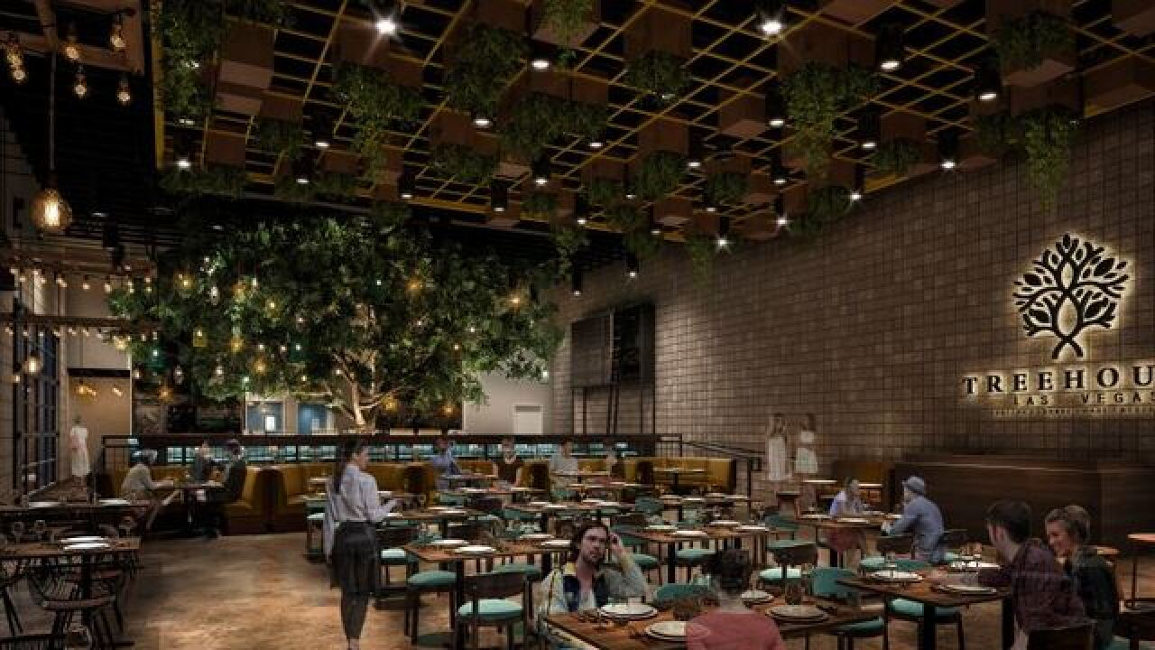 Treehouse to be built in downtown Las Vegas