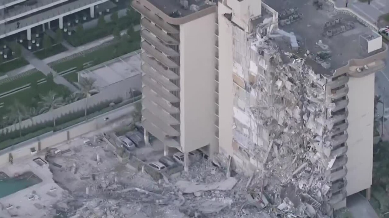 A partial collapse at the Champlain Towers South condominium building in Surfside on June 24, 2021.jpg