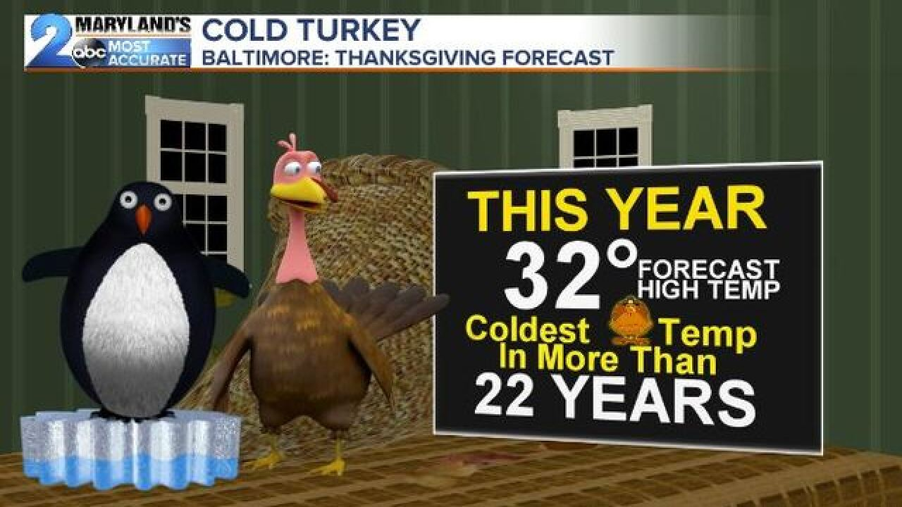 COLD TURKEY: Coldest Temps In Decades