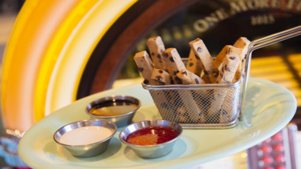 Disney Just Shared The Recipe For Chocolate Chip Cookie Fries So You Can Make Them At Home