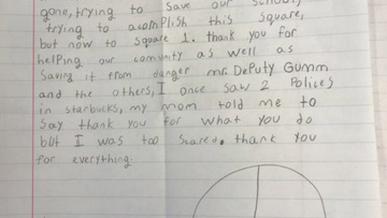GALLERY: Kids send condolence letters to AdCo.