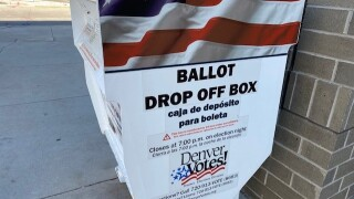 Ballot drop-off box
