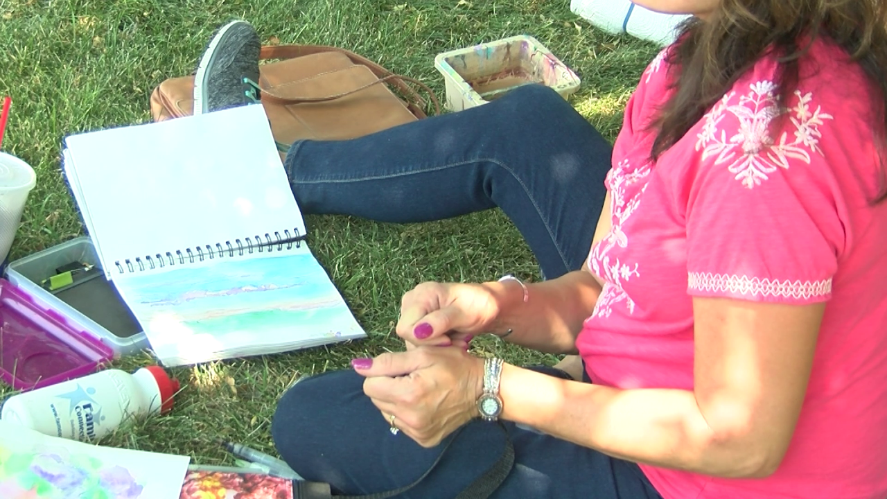 CMR Museum hosts outdoor painting event