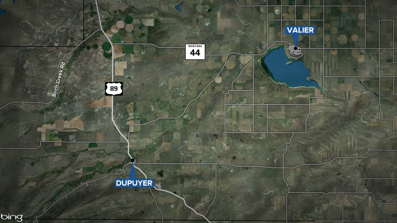 Valier and Dupuyer map
