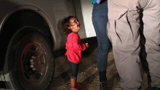 Chaos and unanswered calls as parents try to find separated children