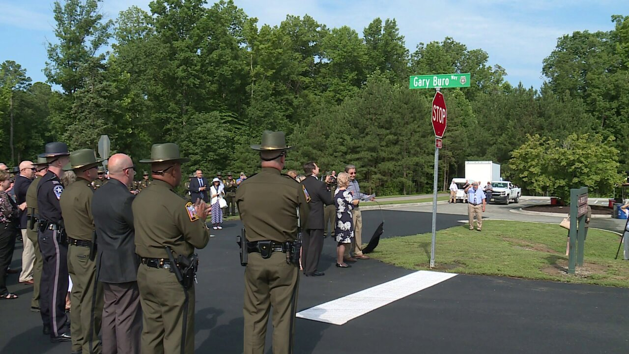 Chesterfield renames road to honor fallen officer GaryBuro