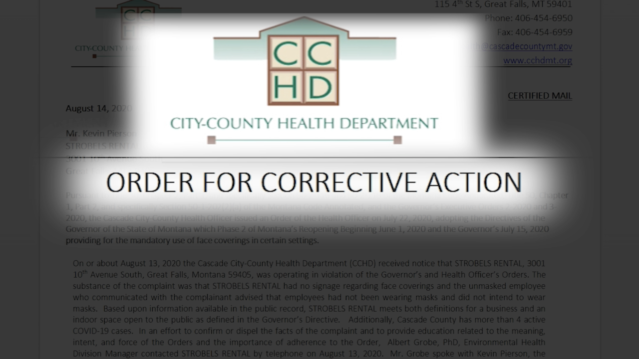 CCHD orders three businesses to comply with mask mandate