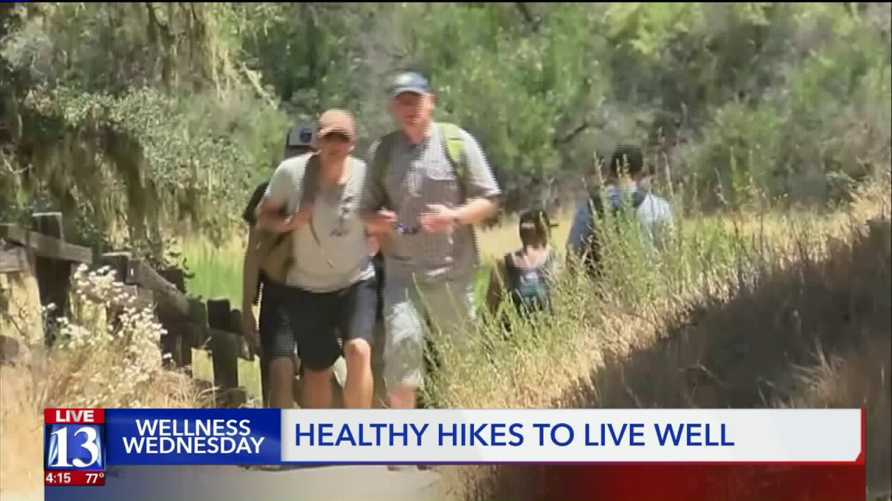 Wellness Wednesday: Find hiking trails with Intermountain's Health Hub App