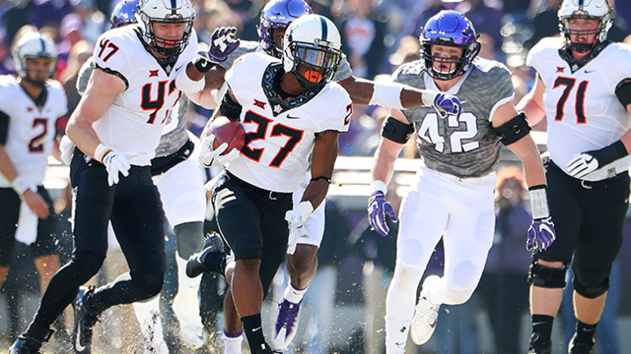 PHOTOS: OSU Cowboys beat TCU Horned Frogs 31-6