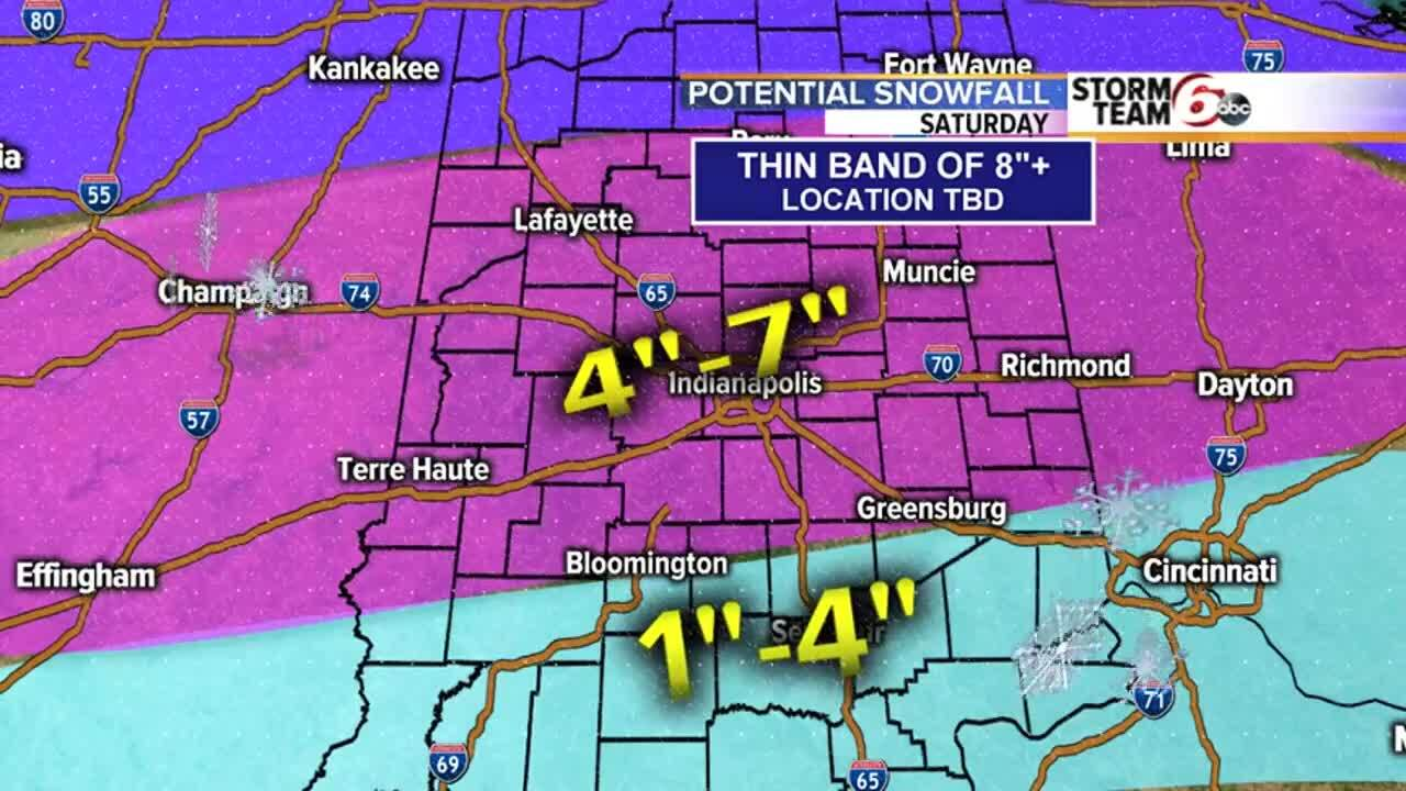 TIMELINE: Watch for the snow storm to begin, hour by hour