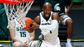 No. 13 Michigan State opens with win over Eastern Michigan