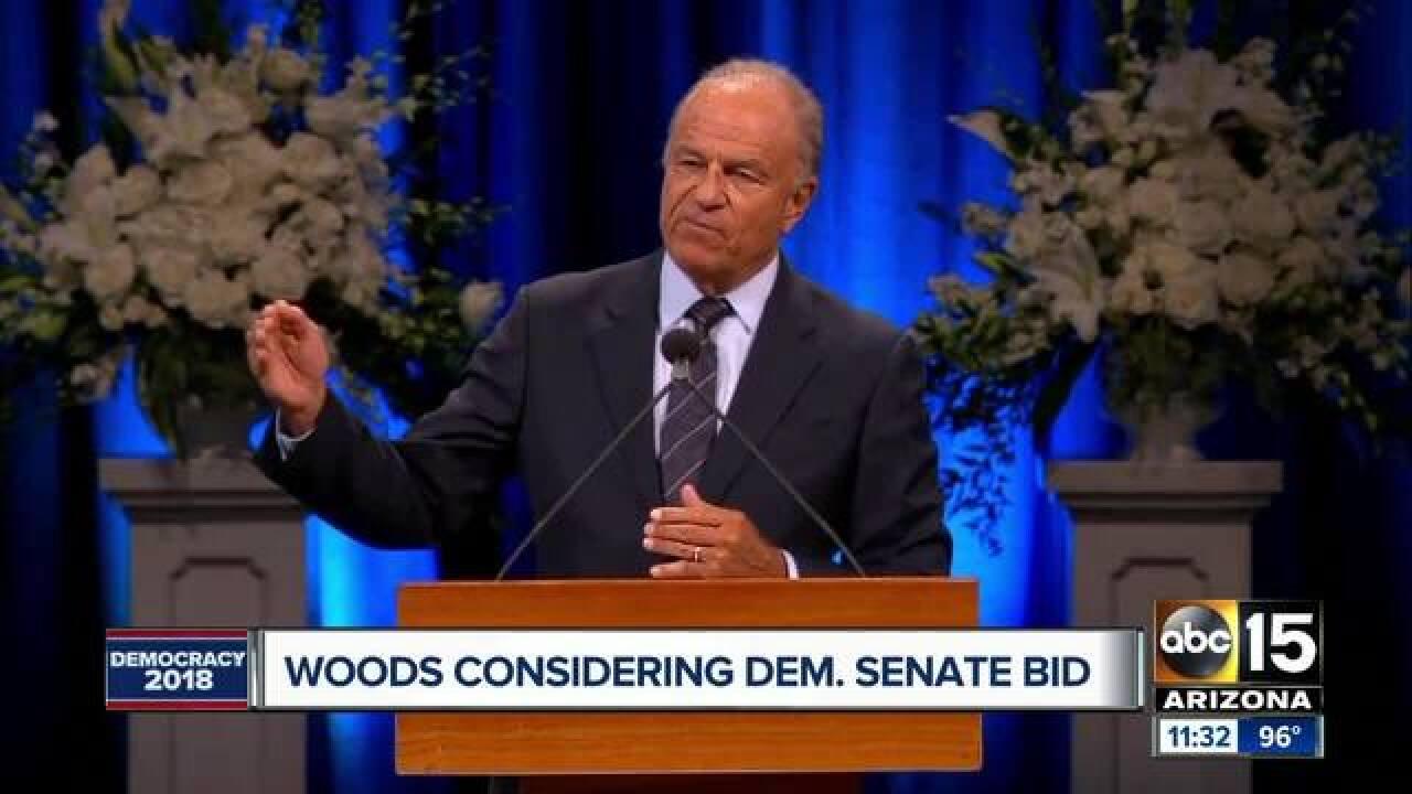 Grant Woods considers AZ Senate run as Democrat