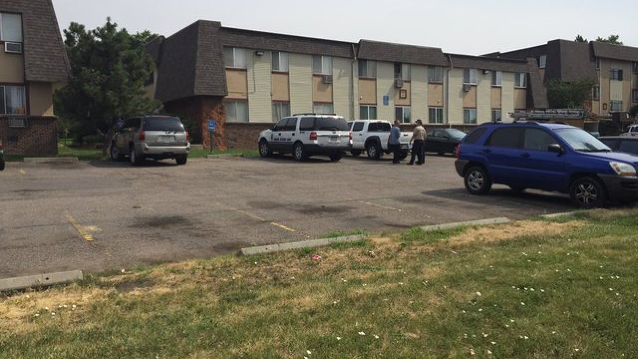 Child falls 15 feet from apartment window in Thornton