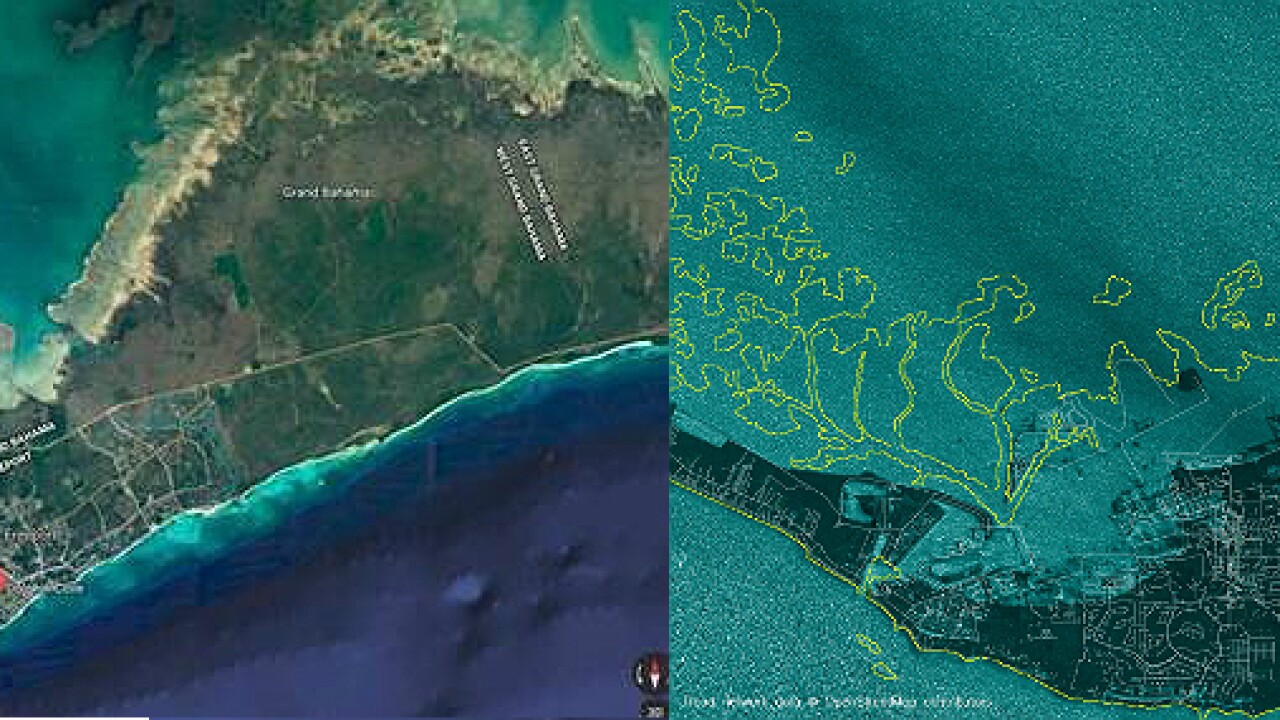 Striking satellite images show Grand Bahama Island before and after Hurricane Dorian's wrath: 'It's utter destruction'