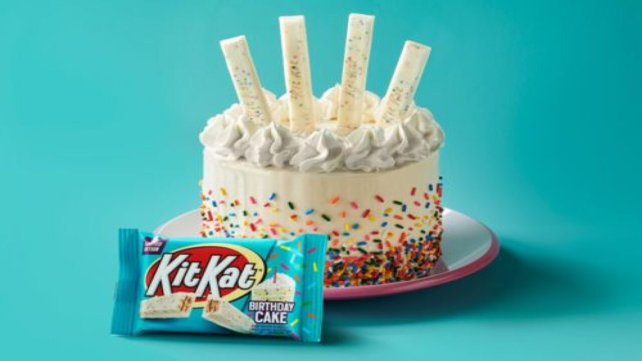 Kit Kat Is Debuting New A Birthday Cake Flavor