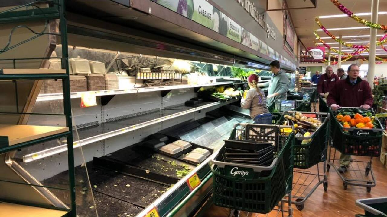 Grocery has to throw out $35K in food after woman allegedly coughs on produce on purpose