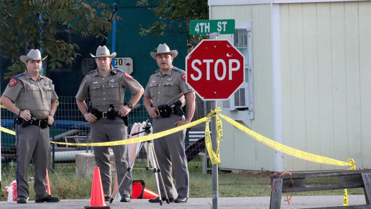 Church gunman confronted by resident, chased