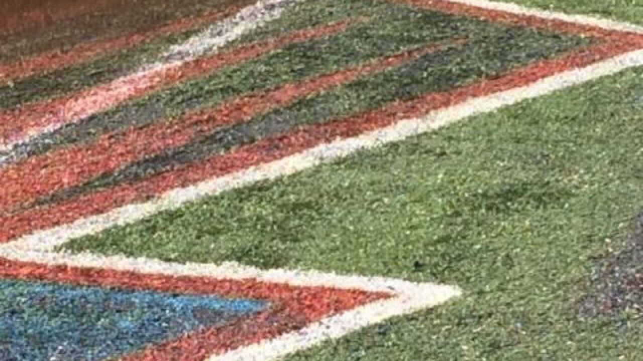 A closer look at the melted Hall of Fame field