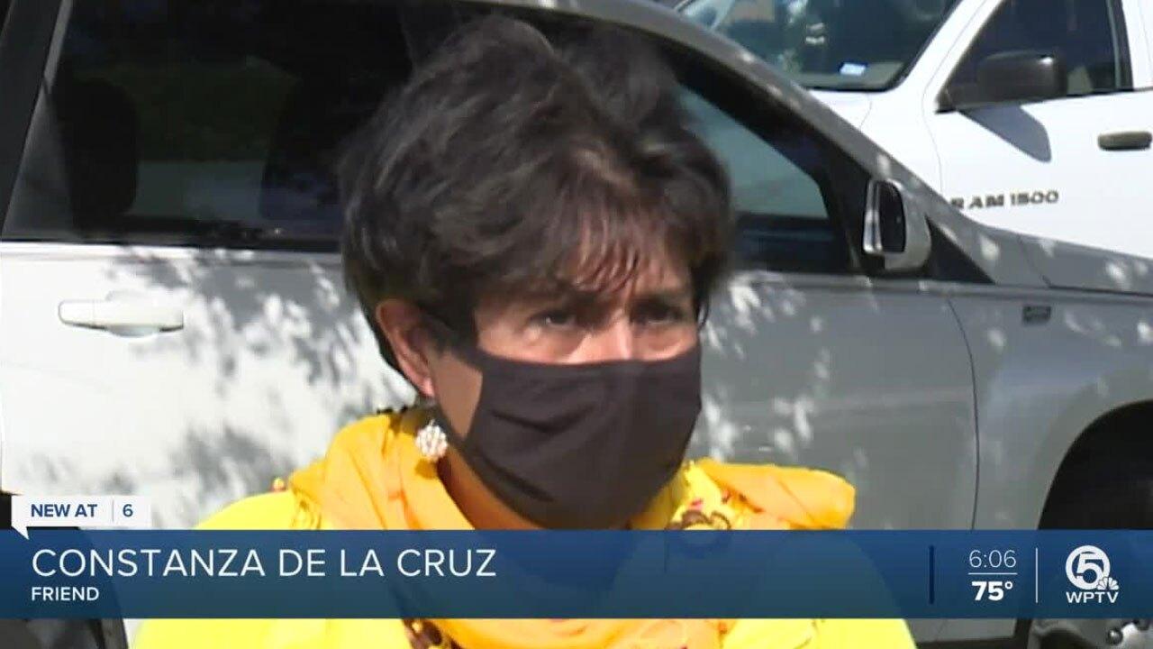 Constanza De La Cruz, caring for children of Priscila Nicolas Antonio