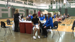 Mason City Schools vaccine event