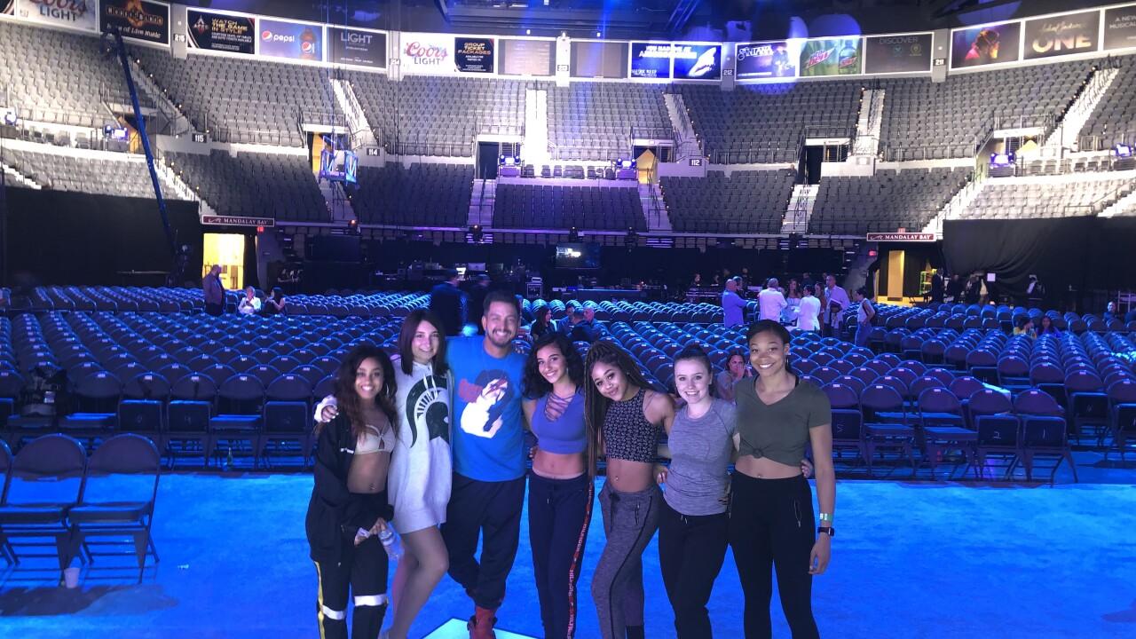 Lansing Dance Group Performs at Latin Billboard Awards