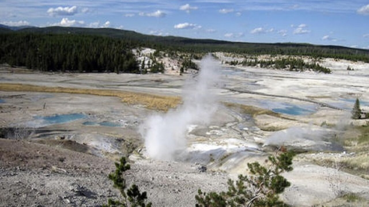 Search for body in Yellowstone hot spring ends
