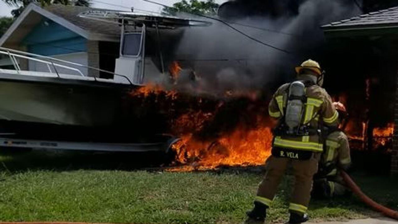 CatCay Drive boat fire