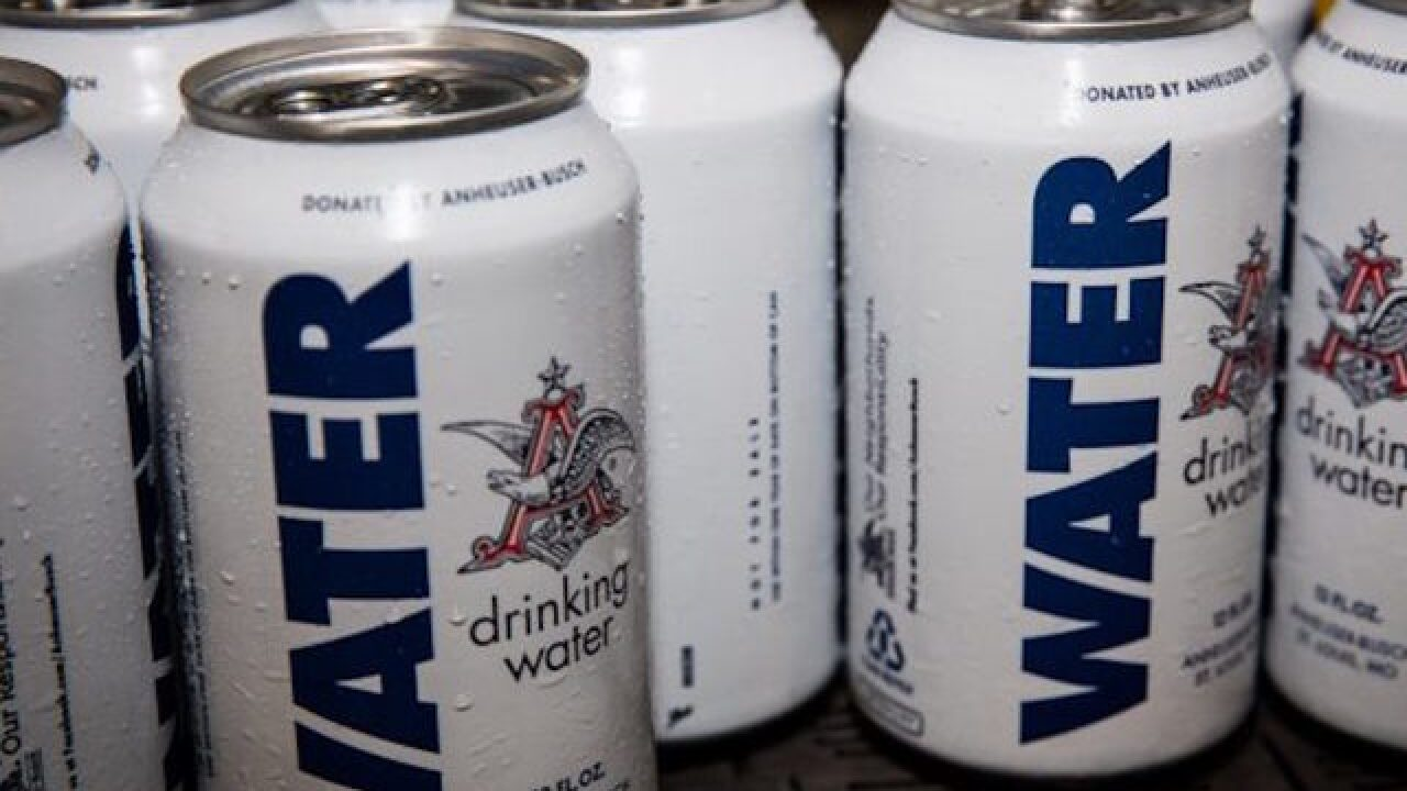 Anheuser-Busch preparing to ship 300,000 cans of safe drinking water to Carolinas
