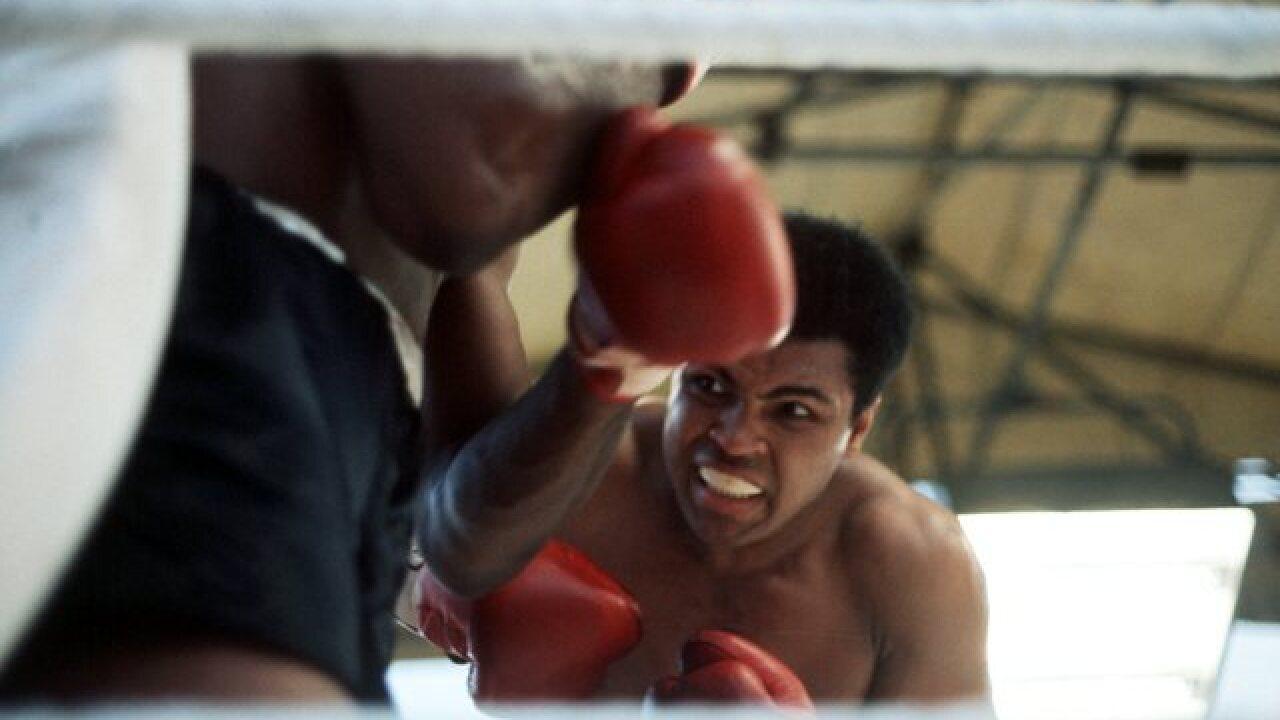 Muhammad Ali through the years