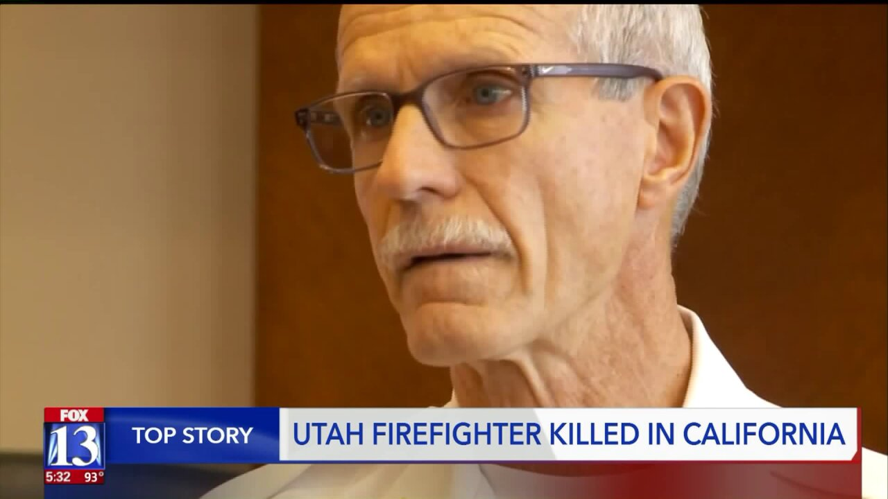 Fellow firefighter remembers Utahn killed in the line of duty
