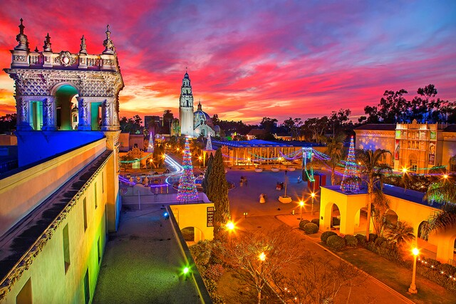 Can't Miss events at December Nights in Balboa Park