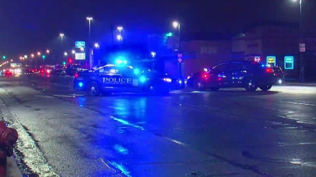 Federal agents conducting search warrant at Detroit motel