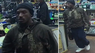 TPD: Double-fisting liquor thief