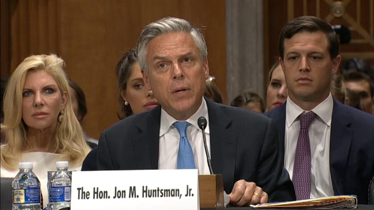 Jon Huntsman Jr. confirmed as U.S. Ambassador to Russia