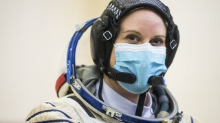 NASA astronaut plans to cast her ballot from space station