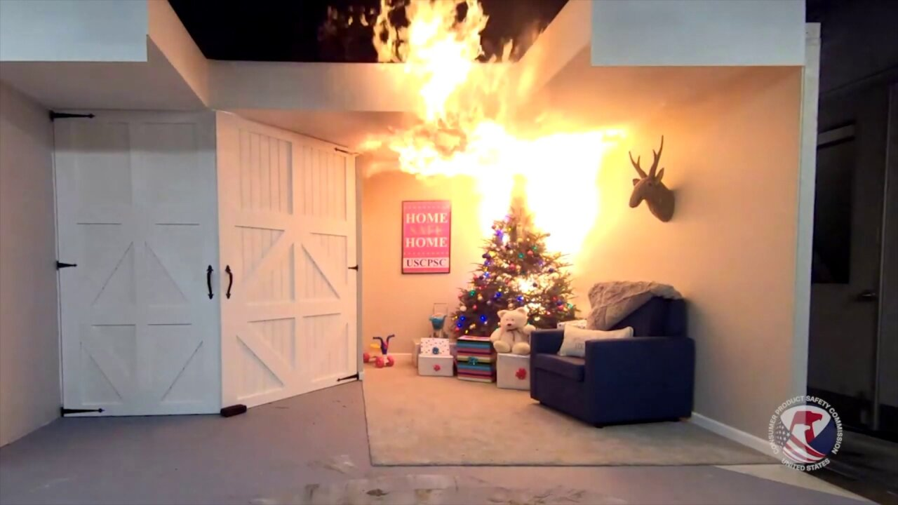 Firefighters warn of potential risks of fires during holiday season